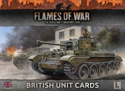 British Unit Cards (Late War)