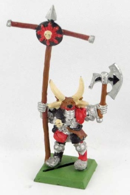 WHFANTASY: Chaos Krieger Armeestandarte