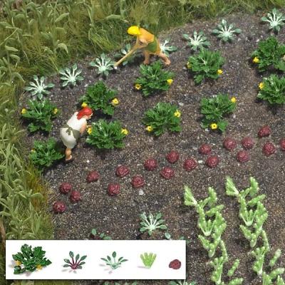 Gemüse und Salat H0