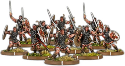 Warriors of Dyngonwy, Rhyfelwr Unit (10)