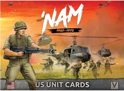 US 'NAM Unit Card Pack