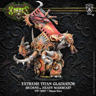 Skorne Extreme Titan Gladiator Heavy Warbeast