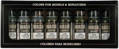 Vallejo Game Color: Washes Set (8)
