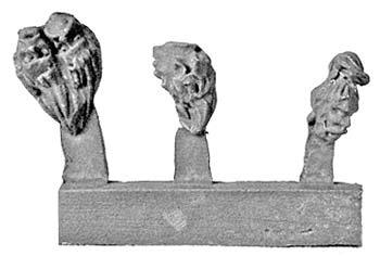 Severed Heads (8 x 3 designs)