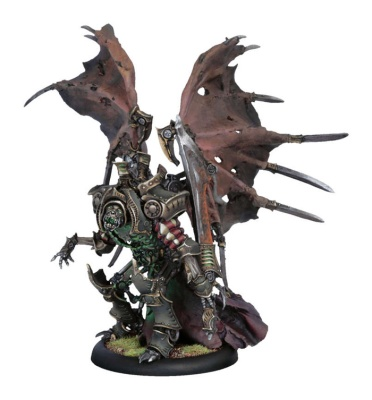 Cryx Warcaster Lich Lord Terminus
