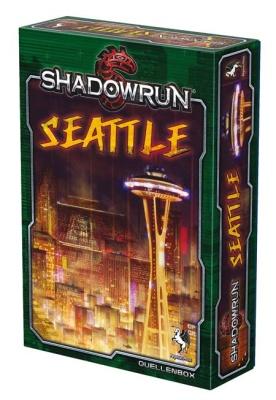 Shadowrun 5: Seattle - Stadt der Schatten (Box)