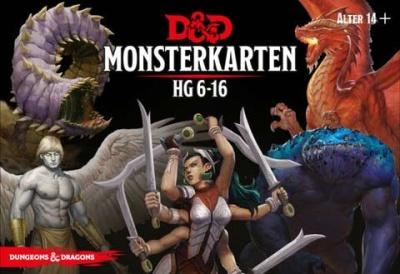 D&D: Monster Deck 6-16 (Deutsch)