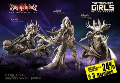 Heroines Box Dark Elves 3 (Fantasy)