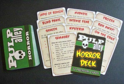 PULP ALLEY: Horror Deck