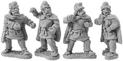Kappadokian Hillmen Infantry (random 8 of 4 desig
