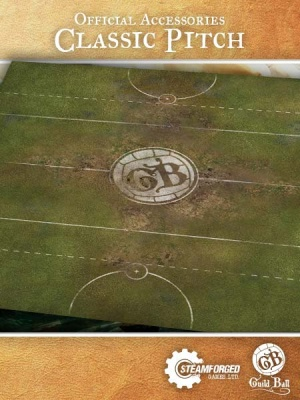 Guild Ball Play Mat: Classic Pitch