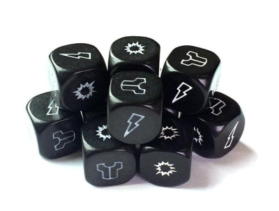 Project Z- Zombie Black Dice Pack (10)