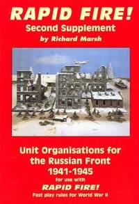 Unit Organisations Russia 41-45  (Rapid Fire)