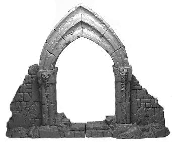 Gothische Durchgangsruine