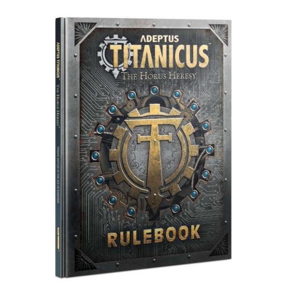 Adeptus Titanicus Rulebook ENGLISCH