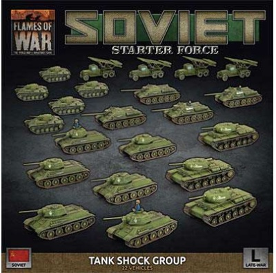 Soviet Tank Shock Group Army Deal