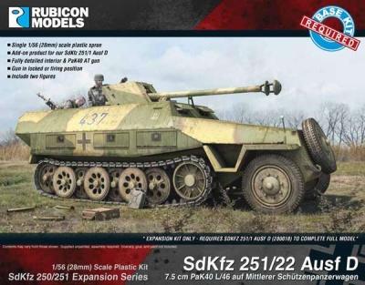SdKfz 250/251 Expansion - 251/22 Ausf D PaKwagen