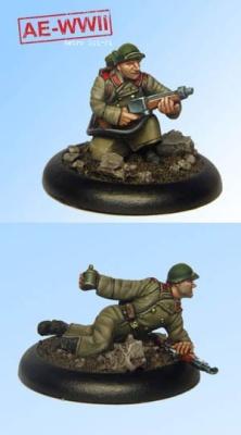 Soviet Guard ROKS-3 Flamethrower Team (2)