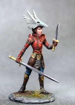 Female Warrior Dual Wield