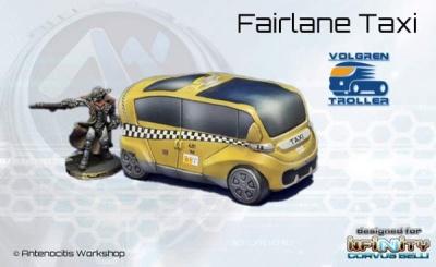 """Volgren-Troller """"Fairlane"""" Taxi Cab"""