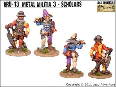Metal Militia of Bruegelburg 3 - Scholars (2)