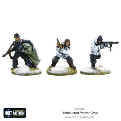 Dismounted Panzer crew (3)