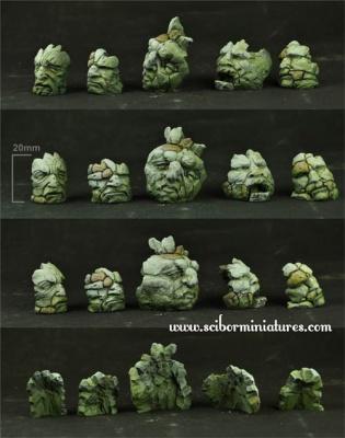 Stone Heads Basing Kit #2