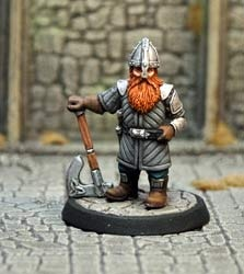 Dwarf Mercenary V2