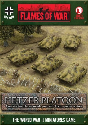 Hetzer Platoon (with Flammpanzer option)