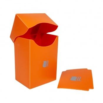 Blackfire Deck Holder Vertical - for 80+ Cards - Orange
