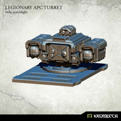 Legionary APC turret: Twin Searchlight