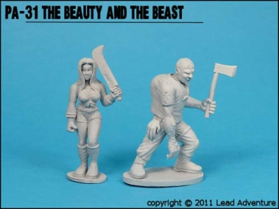 The Beauty and the Beast (2) (OOP)