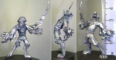 Werewolf / straightjacket