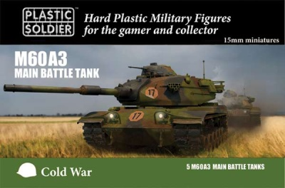 15mm Modern Cold War M60A3 Tank (5)