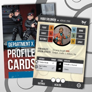 7TV2 Profile Cards: Department X