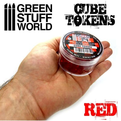 Cube tokens RED