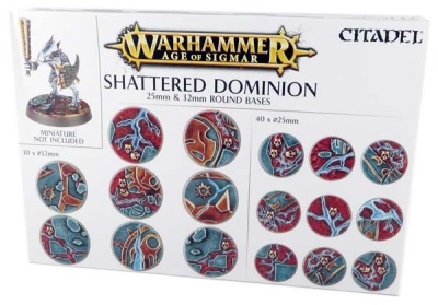 Shattered Dominion: Rundbases (25 mm & 32 mm)