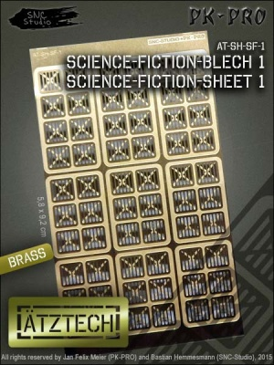 Ätztech Science-Fiction-Blech