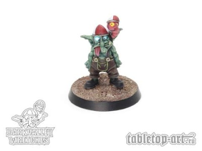 Darkvalley Wretches - Zweiköpfiger Goblin B