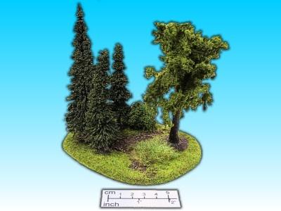 Geländestück Baumgruppe