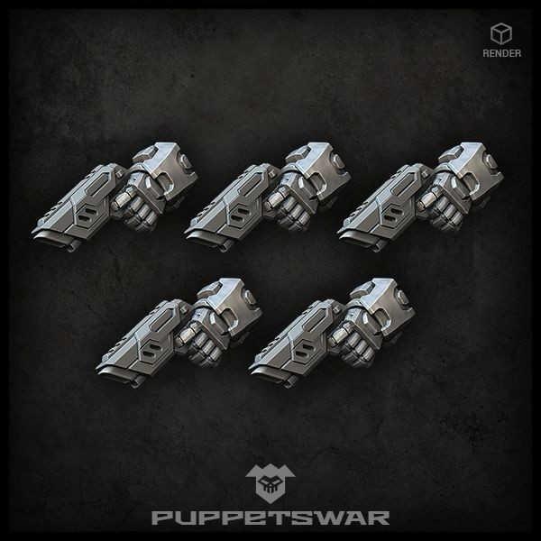 Laser Pistols (left) (5)