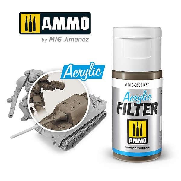 ACRYLIC FILTER Dirt (15ml)