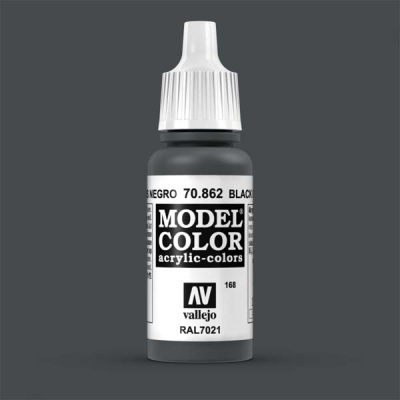 Model Color 168 Schwarzgrau (Black Grey) (862)
