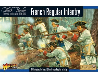 French Regular Infantry boxed set (18)
