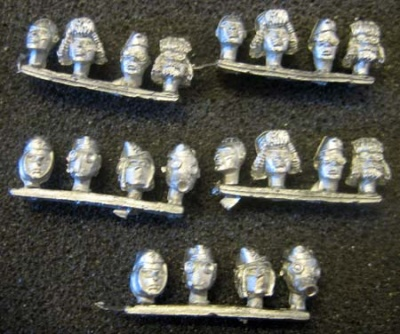Soviet Survivor Heads (20)