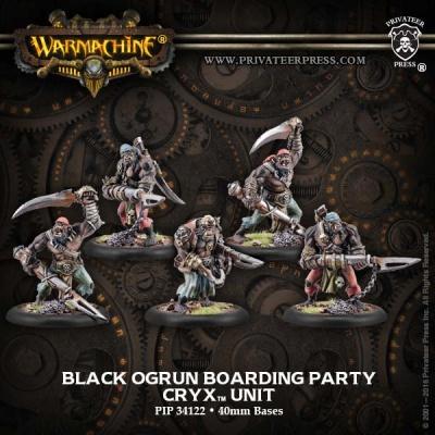 Cryx Black Ogryn Boarding Party (5) (repack)
