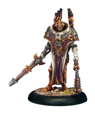 Protectorate Warcaster Vice Scrutator Vindictus