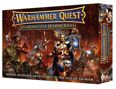 Warhammer Quest Shadows Over Hammerhal ENGLISCH (MO)