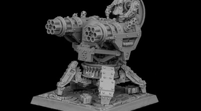 Metal Beards Steam Gatling Gun