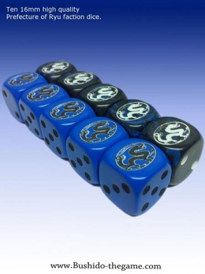 Prefecture of Ryu Faction Dice (10)